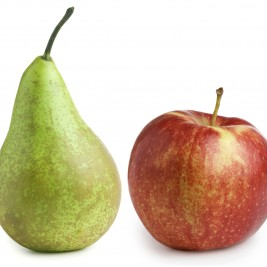 Pears, Apples